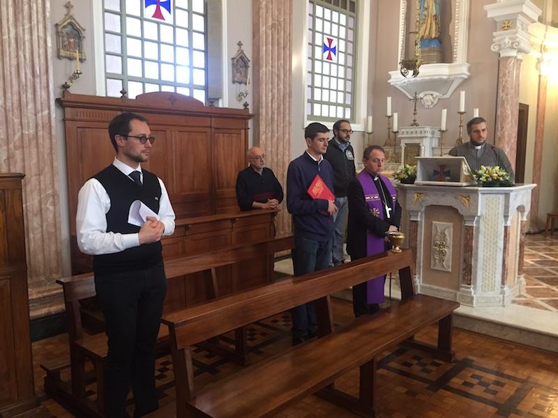 Accoglienza Barabino seminario