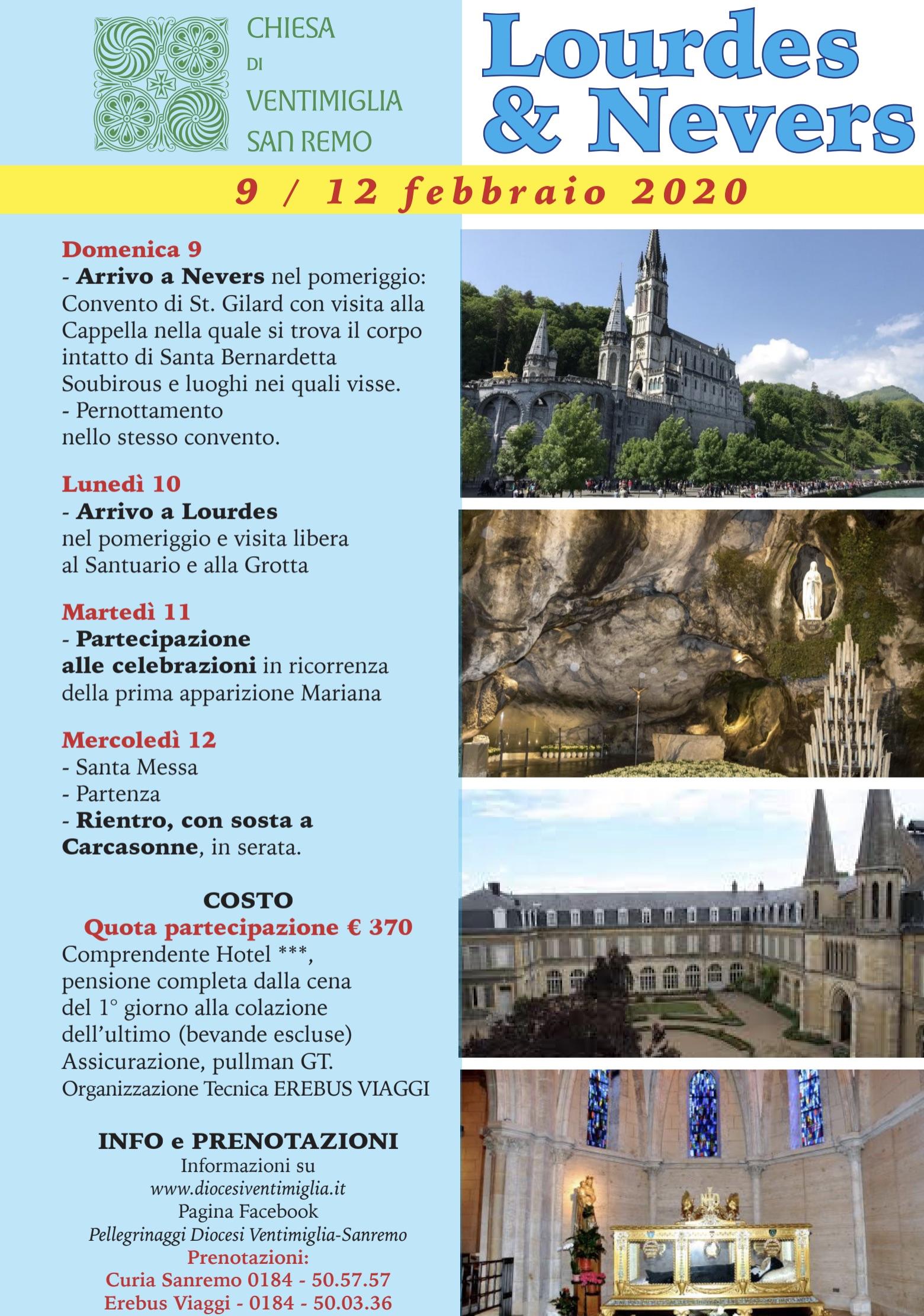 Lourdes e Nevers