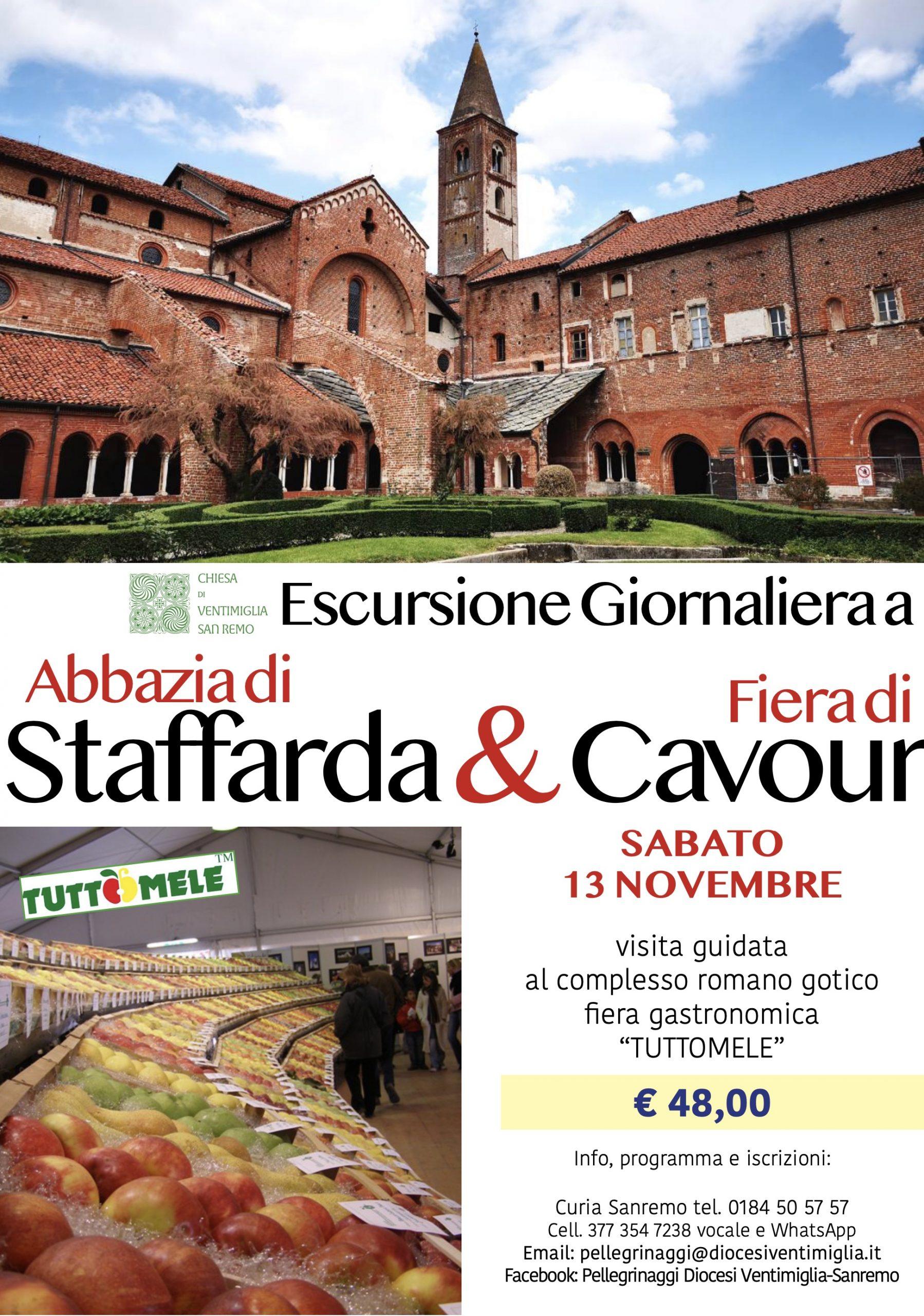 Staffarda e Cavour